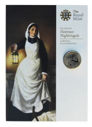 2009 Florence Nightingale Brilliant Uncirculated pack for sale